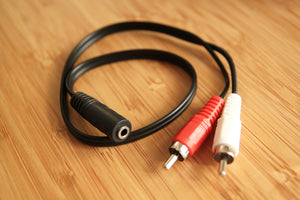 Producer's Toolbox | RCA-Mini Jack Y Cable