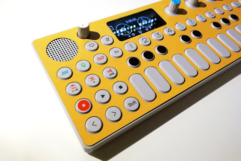 Cremacaffè Design OP-1 Skins | Yellow