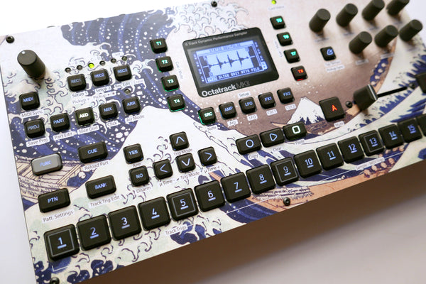 Cremacaffe Design Octatrack MKII Skin: The Big Wave