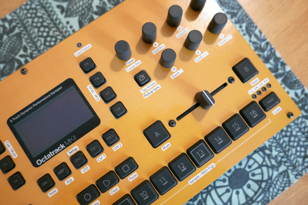 Cremacaffe Design Octatrack MKII Skin: Yellow