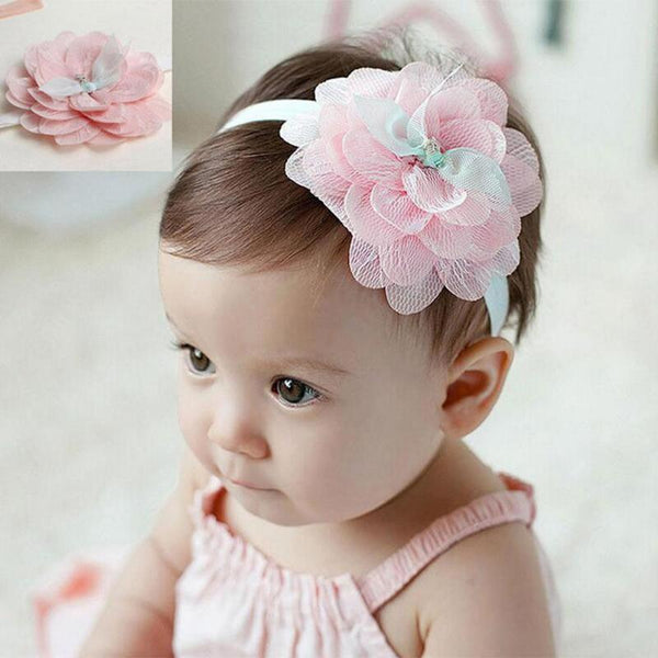 Lace Floral Headbands - Various Colours