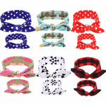 Mummy & Me Patterned Headband Sets - Various Colours