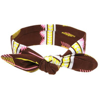 Retro Patterned Knot Bow Headbands - Various Designs