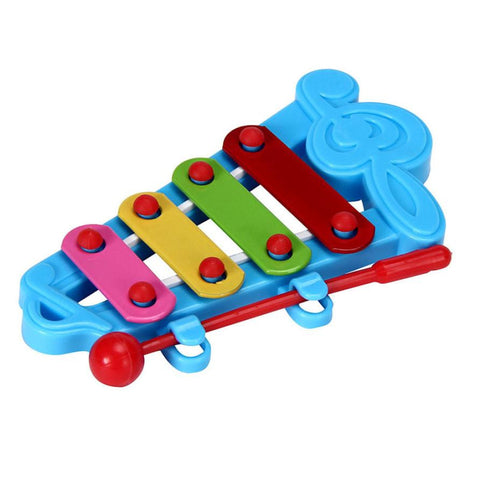Kids musical toy Xyphone Baby 4-Note music instrucment toy Birthday Gift for children guitar Xyphone