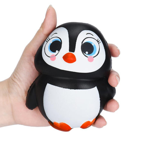 Cute Penguins Squishy Slow Rising Cream Scented Decompression Toys for children kids