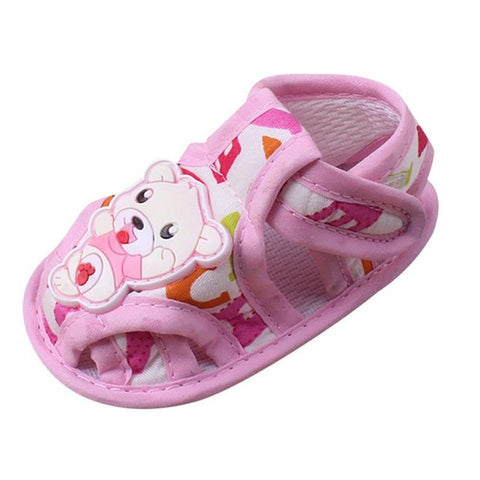 2017 Lovely Baby Boy Girl Cotton Fabric Crib Shoes Infant Toddler Newborn Cartoon Elastic First Walkers Soft Slipper Crib Shoes
