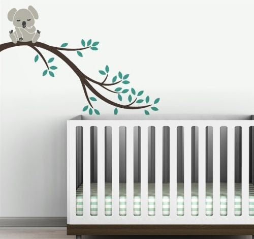 Koala on a Branch Wall Decoration