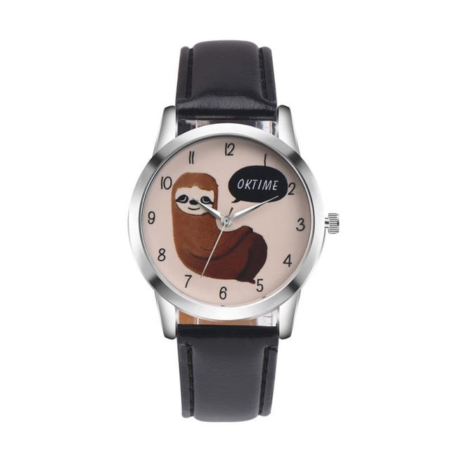 Cartoon Koala Wrist Watch