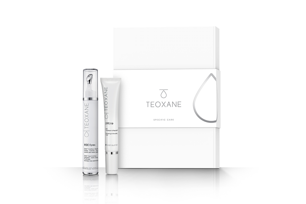 TEOXANE Specific Care Collection image with box and products shown