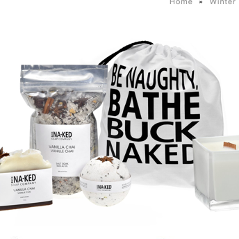 Vanilla Holiday Chai Gift Set