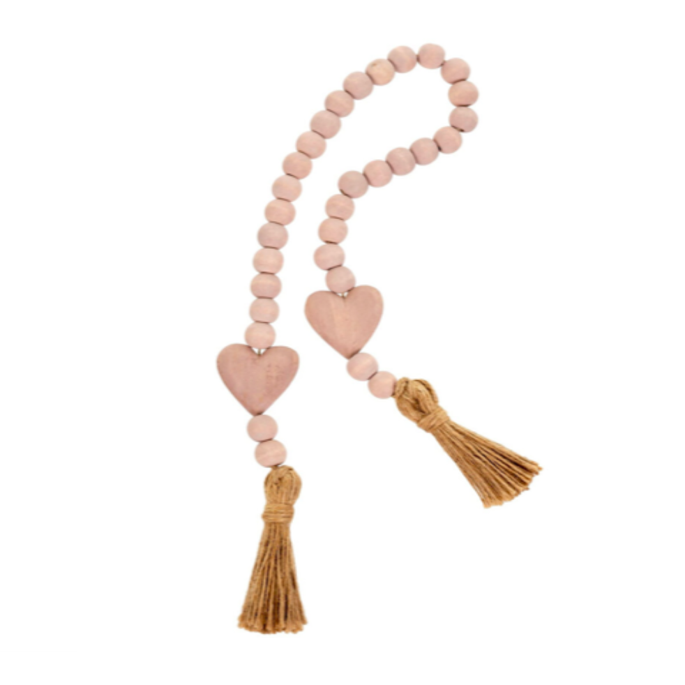 Heart with Tassel Prayer Beads