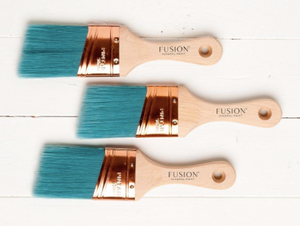 Fusion Synthetic Angled Brush 2""