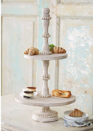 Beaded Tiered Server