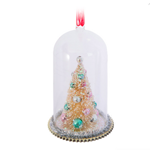 Tree In Cloche Ornament