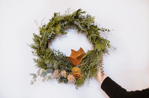 All Natural Winter Wreath | December 6