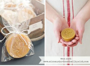 Beeswax Distressing Puck - The Lemonade Stand