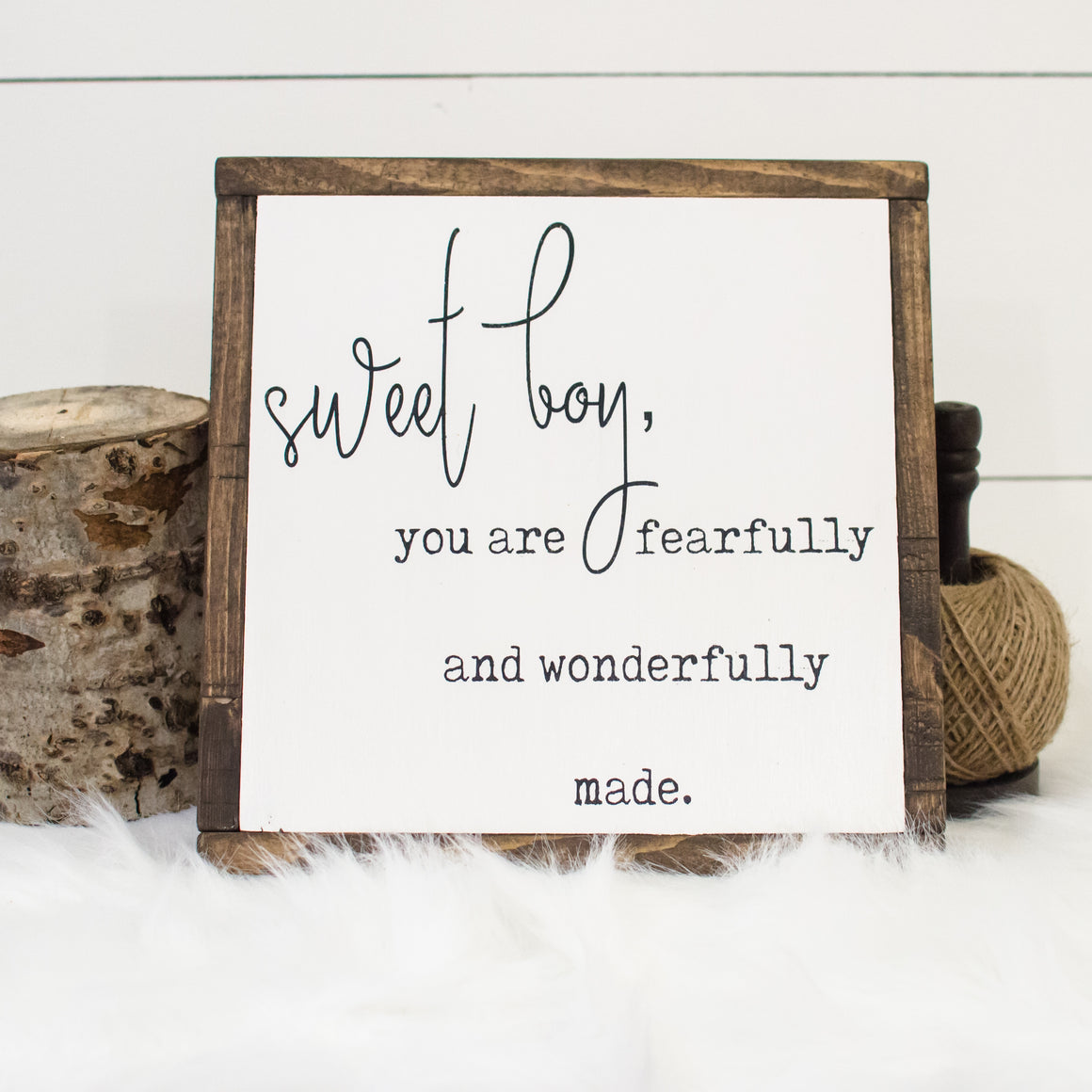 Sweet Boy | Wooden Sign