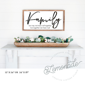 Farmhouse Wooden Sign | March 25