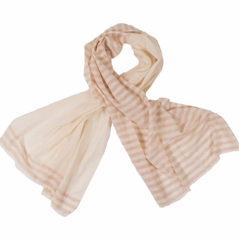 Scarf | Half Stripped Rust