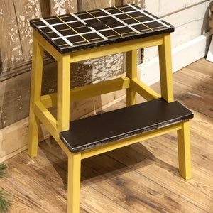 Milk Paint Step Stool | Feb. 12