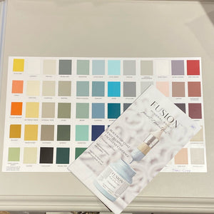 Fusion true Colour Paint Card