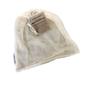 Organic Cotton Mesh Laundry Bag