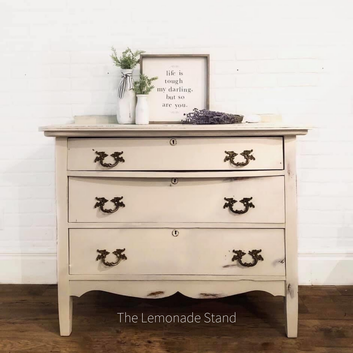 Farmhouse White Dresser