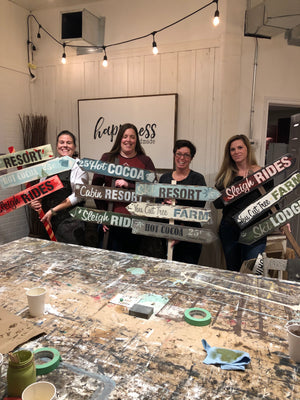 Holiday Picket Sign | Nov. 22