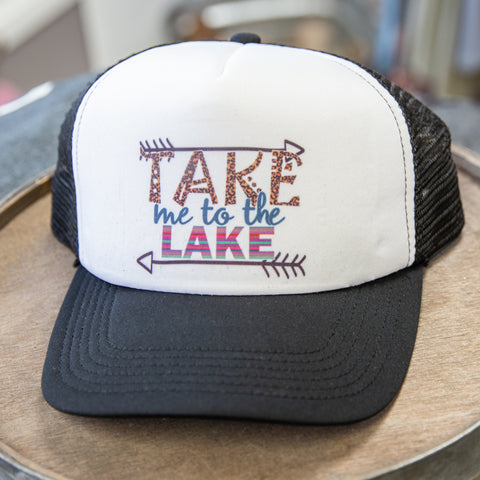 Take me to the Lake Trucker Hat