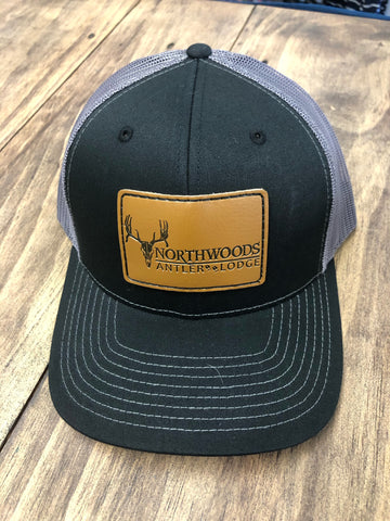 Leather Brand Black/Grey Northwoods Hat