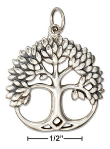 Sterling Silver Tree Of Life Charm