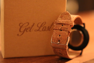 Cork & Wooden Watch