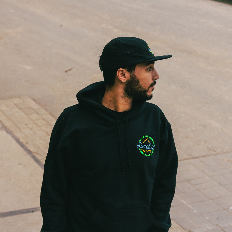 Premium Send It Neon Hoodie