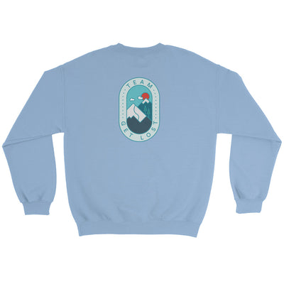 TeamGetLost Sweater - Back Design