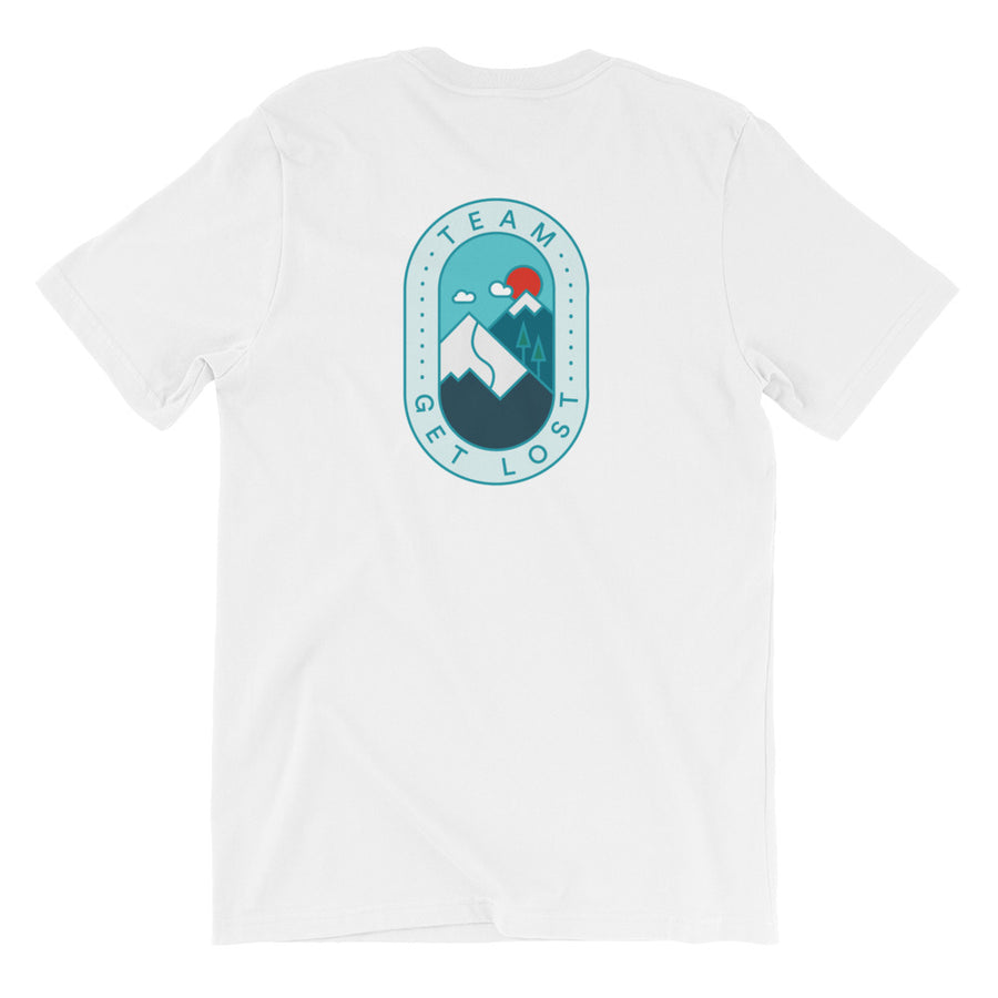 TeamGetLost Tee - Front & Back Design