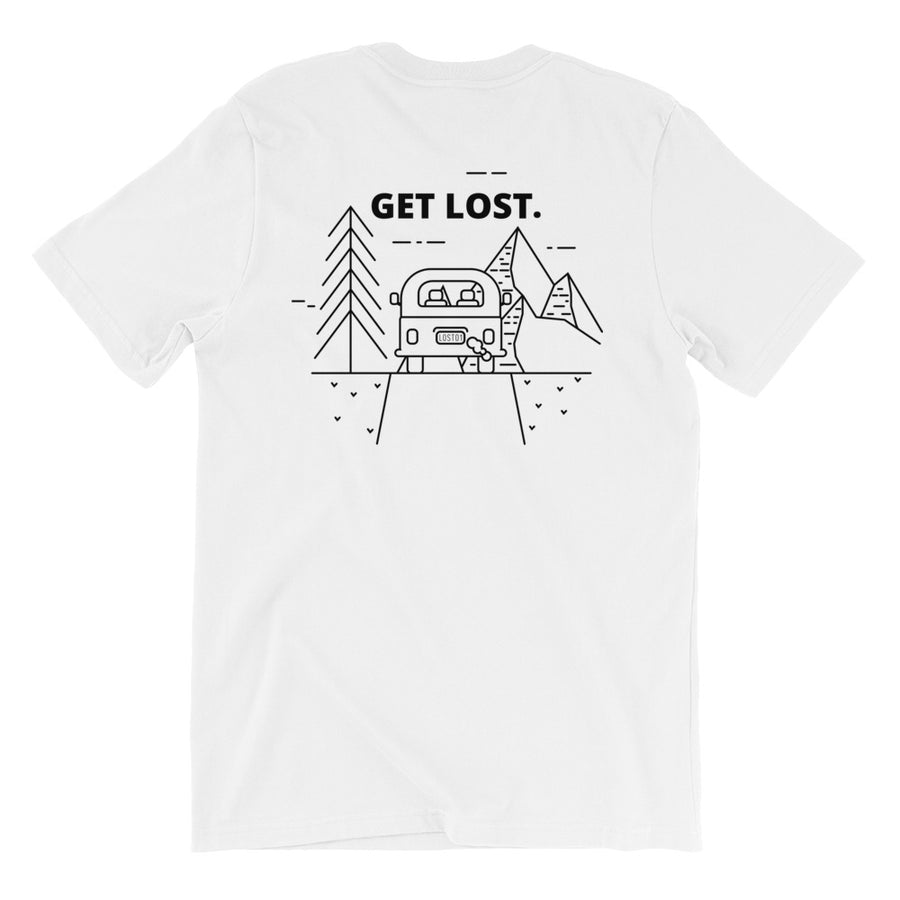 Lost Car Back & Front Tee