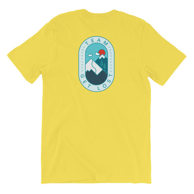 TeamGetLost Tee - Back Design