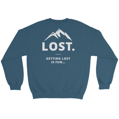 Getting Lost Is Fun Sweater