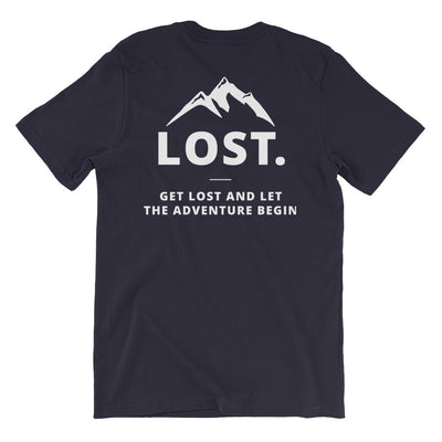 Lost Adventure Back & Front Tee