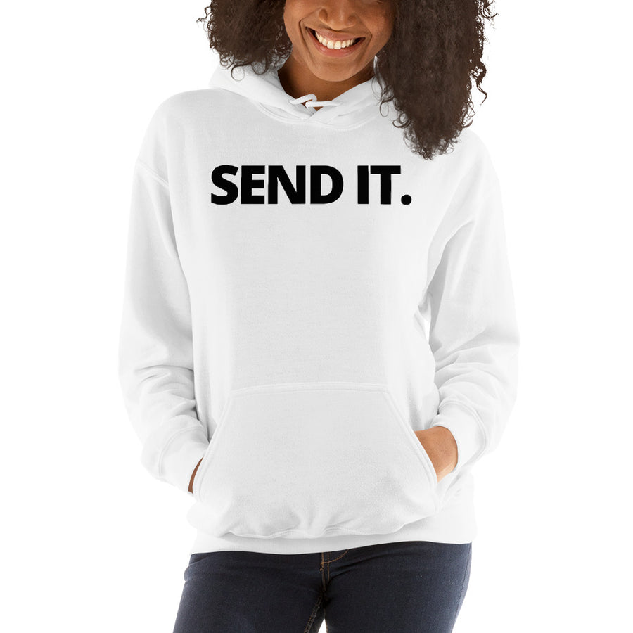 Premium SEND IT. Hoodie