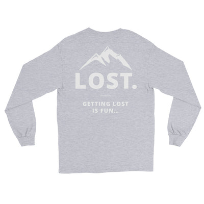 Getting Lost Is Fun Longsleeve