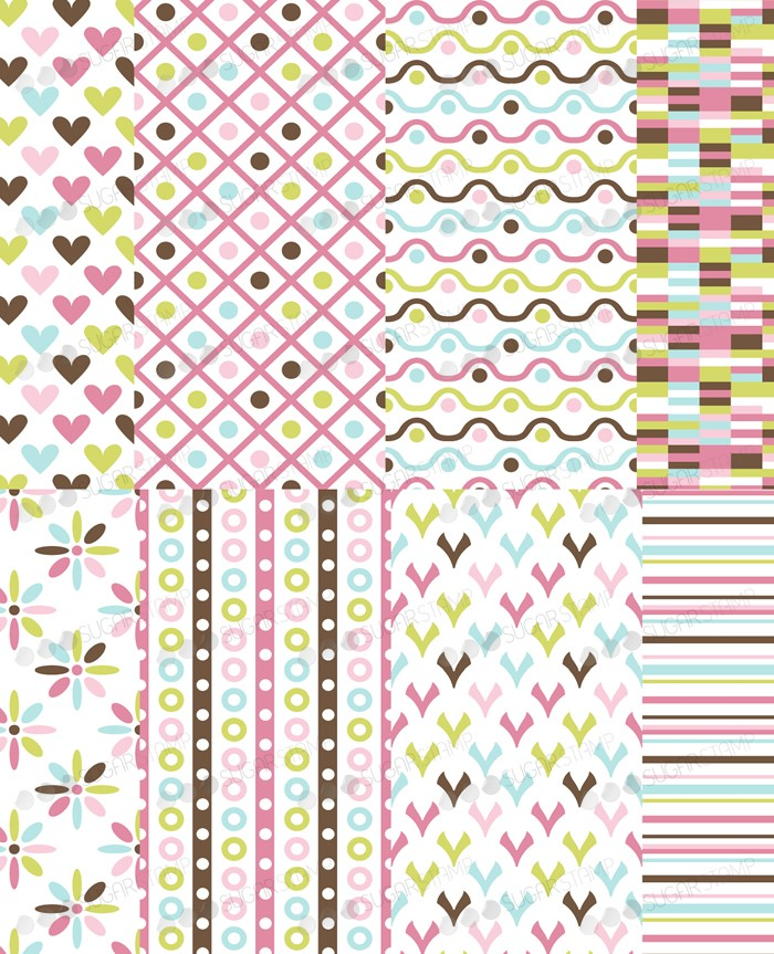 Background Mix 1 Sugar Stamp - marcelpaa
