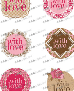 Sugar Stamp With Love
