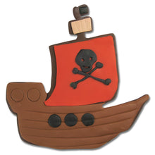 Ausstecher Piratenschiff, 10.5 cm - marcelpaa