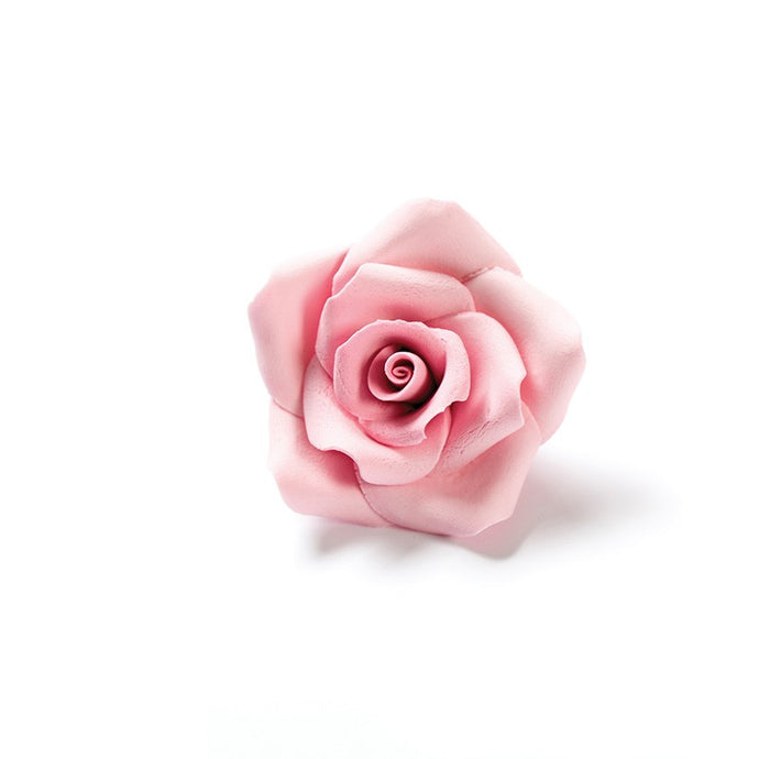 Zuckerrosen gross Rosa, Ø 5 cm