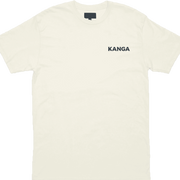Carolina Cold One Tee - Cream & Navy - Kanga Coolers