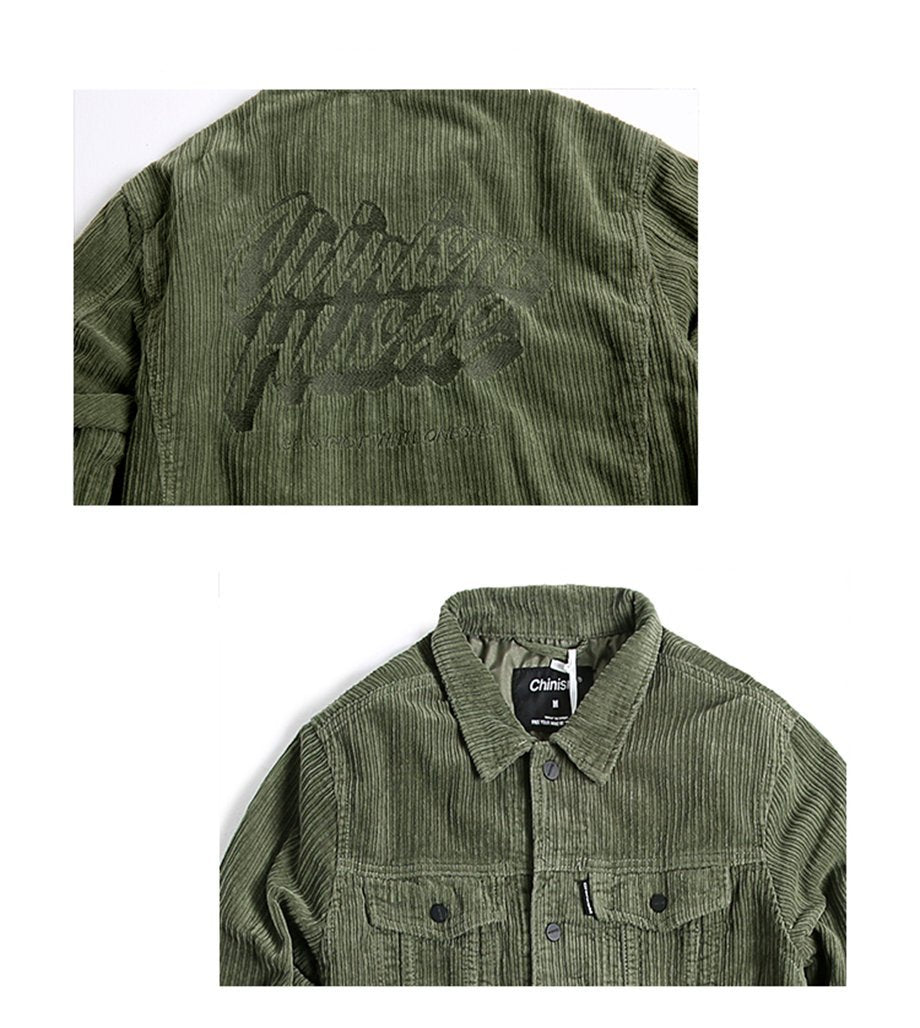 Hustle Corduroy Jacket - Moodyourself