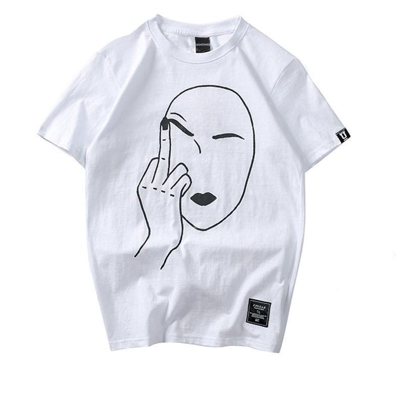 Middle Finger T-Shirt - Moodyourself