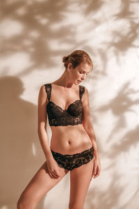 Ellipse Vintage  French Lace Underwire cup