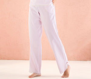Ellipse Botanical Pink Striped PJ Pants